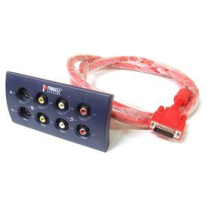 Pinnacle Systems Bluebox Audip/Video Port P/N 40160734