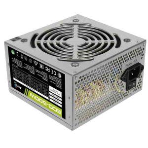 Блок питания 500 Вт AeroCool ECO-500W 20+4 pin; 1x4 pin; 1x6 pin; 2xSATA