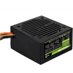 Блок питания 500 Вт AeroCool VX-500 Plus 20+4 pin; 1x4+4 pin; 1x6+2 pin; 3xSATA