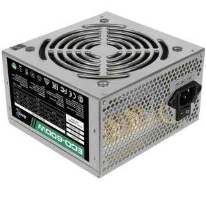 Блок питания 600 Вт AeroCool ECO-600W 20+4 pin; 1x4 pin; 1x6+2 pin; 4xSATA