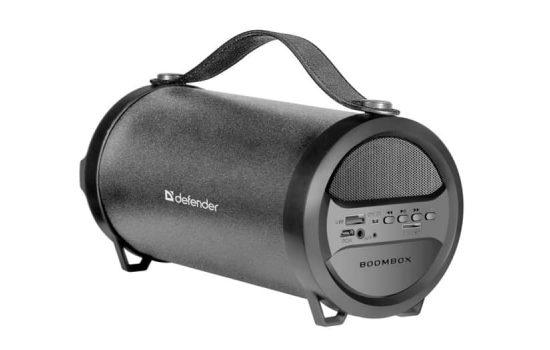Портативная колонка Defender G24 10Вт BT/FM/MP3/USB Black