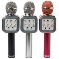 Беспроводной микрофон-колонка WS-1818 Grey