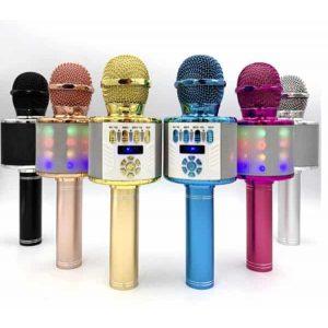 Беспроводной микрофон-колонка DS-898 Black