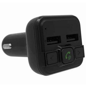 FM-трансмиттер Eplutus FB-07 Bluetooth, microSD, 12/24v Black