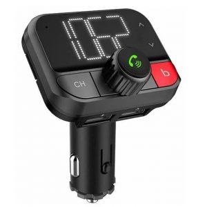 FM-трансмиттер Eplutus FB-08 Bluetooth, microSD, 12/24v Black