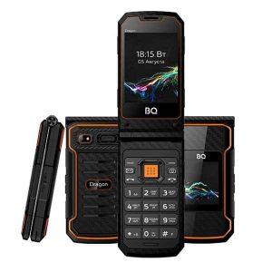 Телефон BQ 2822 Dragon Black/Orange