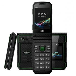 Телефон BQ 2822 Dragon Black/Green