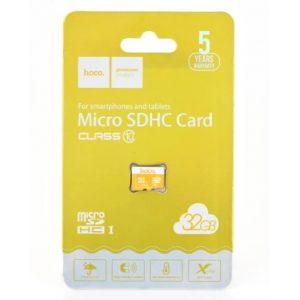 Карта памяти microSDHC 32GB (10) Hoco 3.0 HS