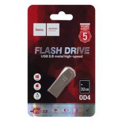 USB накопитель 32 Gb HOCO UD4 2.0 metal Silver