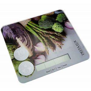 Весы кухонные Delta LUX DE-003KE Витаминный микс 10кг