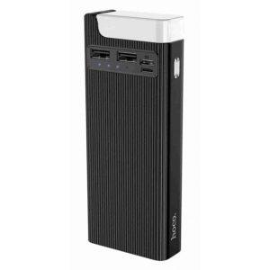 Power Bank Hoco J62A, 2USB/Type-C, 2A, 10000 mAh Black