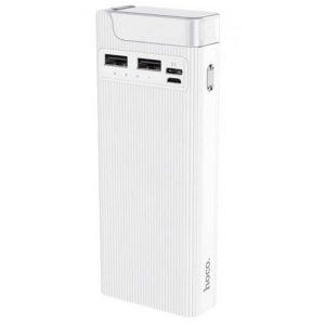 Power Bank Hoco J62A, 2USB/Type-C, 2A, 10000 mAh White