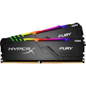 Оперативная память DDR4 16Гб Kingston HyperX FURY RGB (HX432C16FB3AK2/16)