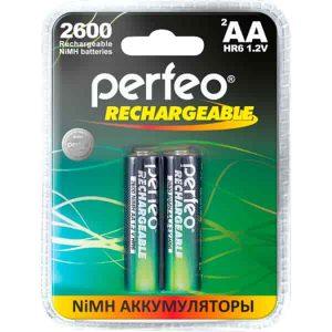 Аккумулятор Perfeo AA2600mAh/2BL