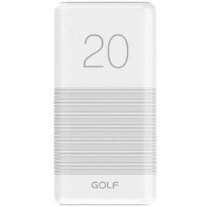 Power Bank Golf Golf G81 20000mAh 2,1A 2USB White