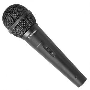 Микрофон Defender MIC-130 5м Black