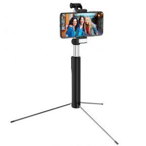 Монопод Hoco K10B Wireless Tripod Selfie Black
