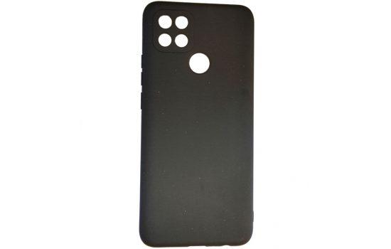 Силикон Oppo A15s Soft matte Black
