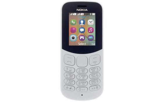 Мобильный телефон Nokia 130 DS TA-1017 Grey