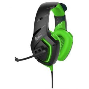 Игровая гарнитура Smartbuy SBHG-8600 Skythe Rush Green-Black