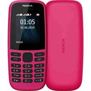 Мобильный телефон Nokia 105 DS, TA-1174, Pink