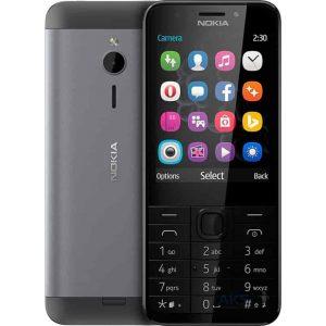 Телефон Nokia 230 RM-1172 Dual SIM Dark Silver