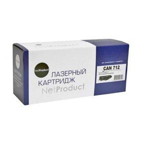 Картридж лазерный NetProduct N-№712