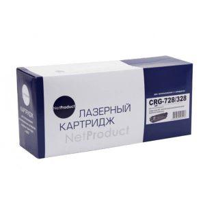 Картридж лазерный NetProduct N-№728/328