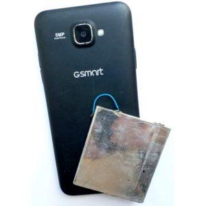 Восстановление аккумулятора смартфона Gsmart